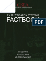 CSBA FY17 Weapon Systems Factbook