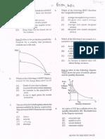 CAPE Economics Unit 1 Paper 1 2011