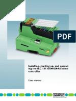 Manual ILC 151