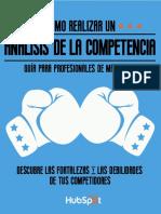 Análisis Competitivo de Marketing