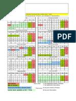 Calendario escolar 2008-2009