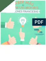 Saber Más Es Tomar Las Mejores Decisiones Financieras