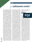 Carlo Alessandro Landini, Contro il politicamente corretto