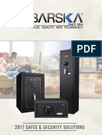 2017 Barska Safes Catalog