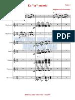 En Er Mundo.orquesta e Instrumentos.solfeo y Cifra