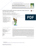 Evaluation of Water Quality Using Water Quality Index (WQI) Method and GIS in Aksu River (SW-Turkey)