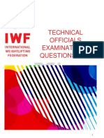 IWF to Exam Questions 20170213