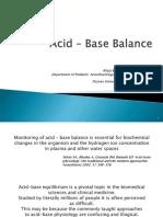 AcidBase Balance
