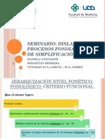 Dislalia y Procesos Fonológicos de Simplificación
