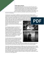 the development of the horror genre final