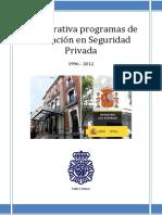 Nuevos Programas de Formación Seguridad Privada