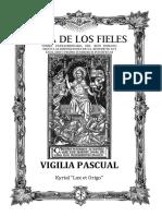 Vigilia Pascual 1962  - Forma Extraordinaria del Rito Romano