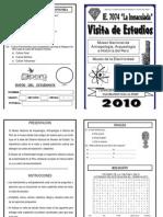 Cuaderno de Trabajo Visita de Estudios 2010
