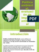 Política Ambiental, Evaluación de Impacto Ambiental