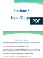 8 Input Output