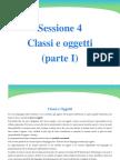 4-Classi e Oggetti