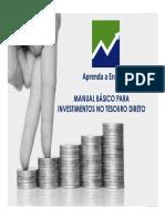 Manual Básico Para Investimentos no Tesouro Direto.pdf