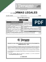 Infracciones y Sanciones Dl 981