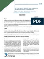 Teorías Organizacionales y Administrativas