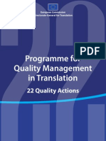 Quality Management Translation En
