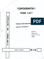 Topografia i - Tesis 2 Al 7 - Costantini