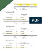 Dosificacion Excel Junior