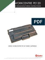 Xerox WorkCentre PE 120 Reman Eng