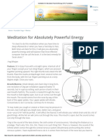 Meditation for Absolutely Powerful Energy _ Kundalini