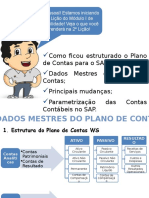 Curso I - Lição 2 - Plano de Contas