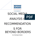 beyond borders social media analysis