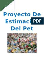 Proyecto De Estimación Del Pet.docx