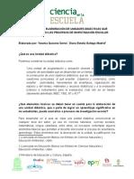 Guia Para La Elaboracic3b3n de Unidades Didacticas