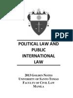 Ust 2013 Golden Notes-political Law (1)