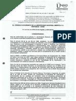 Acuerdo 007 Julio 2007