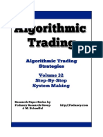 Algorithmic Trading - Step by Step System Making