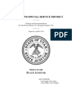Canyonland Special Service District