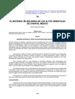 Material de Molienda de Los Altos de Chiapas