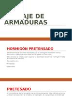 Anclaje de Armaduras