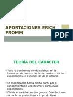 Aportaciones Erich Fromm