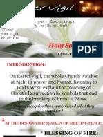 Bishops Homily - Holy Saturday Easter Vigil