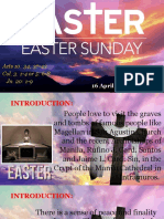 Bishops Homily - Easter Sunday