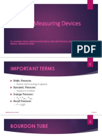 Pressure Measuring Device