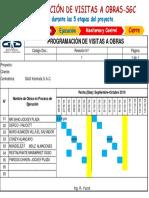 GyG Programación de Visitas a Obras-SGC