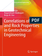 Correlations of Soil and Rock Properties in Geotechnical Engineering