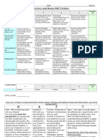 greece and rome raft rubric