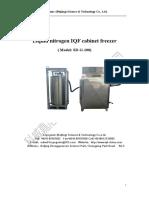 SD G 100 Iqf Freezer