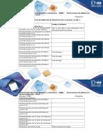 Anexo 2 – Tabla de Distribución de Productos de La Guía de La Fase 4