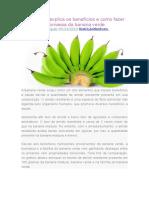 Nutricionista explica os benefícios e como fazer a farinha e biomassa da banana verde.docx