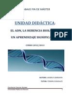 TFM Andrea Barbarin Alonso, Unidad didáctica del ADN..pdf