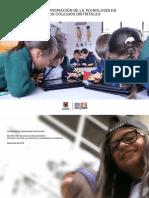 Usos y apropiaci�n de la Tecnolog�a en los colegios Distritales